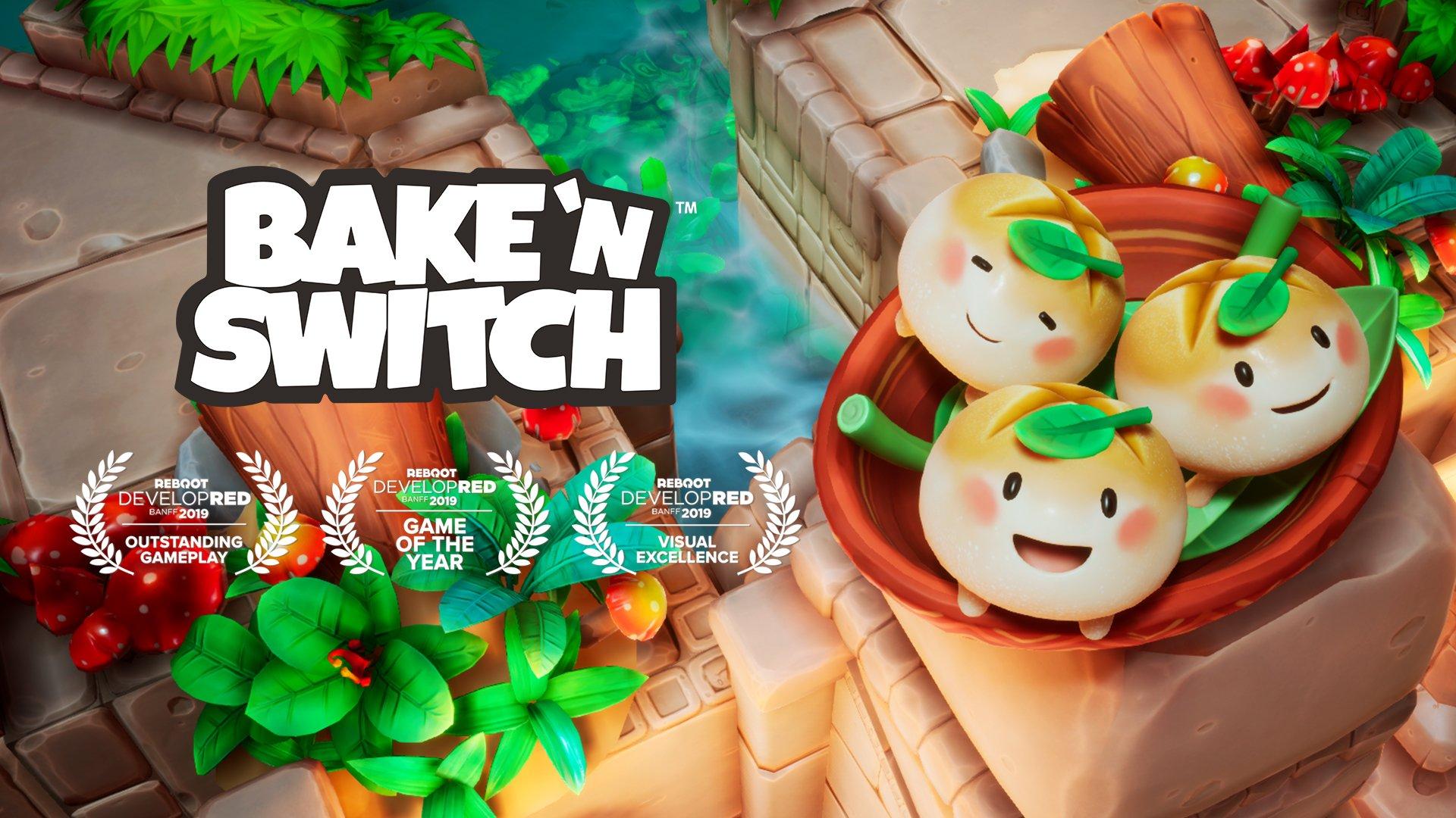 Bake n Switch Award Winning Poster